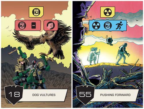 Board Game: Judge Dredd: The Cursed Earth