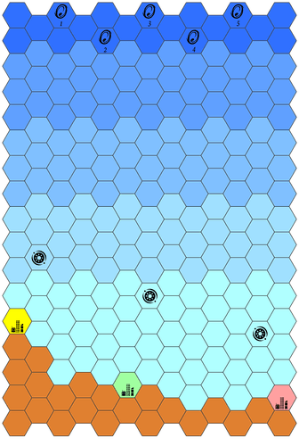 Board Game: Invaders from Galaxy X