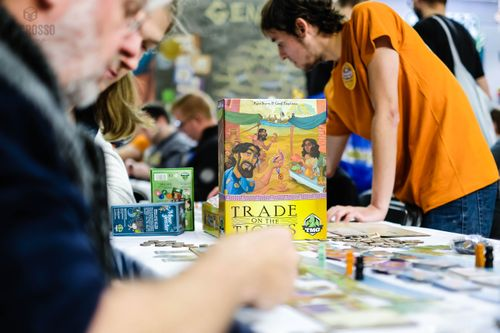 Board Game: Trade on the Tigris