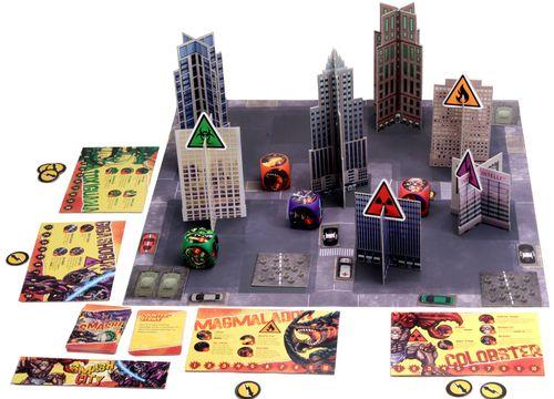 Board Game: Smash City
