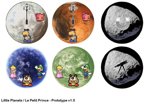 Board Game: The Little Prince: Make Me a Planet