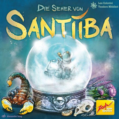 Board Game: Die Seher von Santiiba