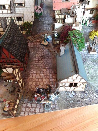 Board Game: Vanguard: Seeking Sanctuary