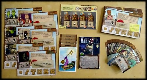 harbour board game rules pdf