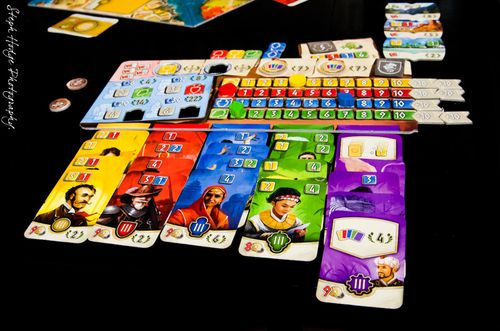All the Meeples of the Rainbow  | BoardGameGeek
