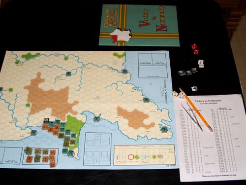 Board Game: Victory in Normandy