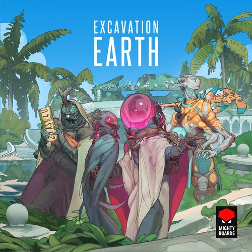 Board Game: Excavation Earth