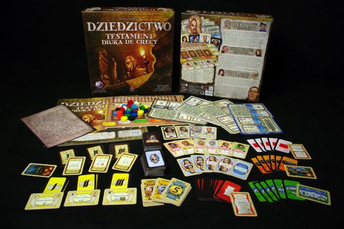 Board Game: Legacy: The Testament of Duke de Crecy