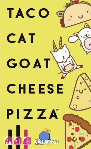 Board Game: Taco Cat Goat Cheese Pizza