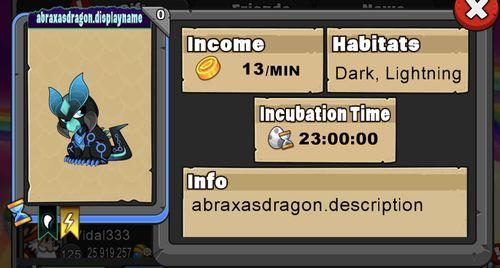 Abraxis Dragon
