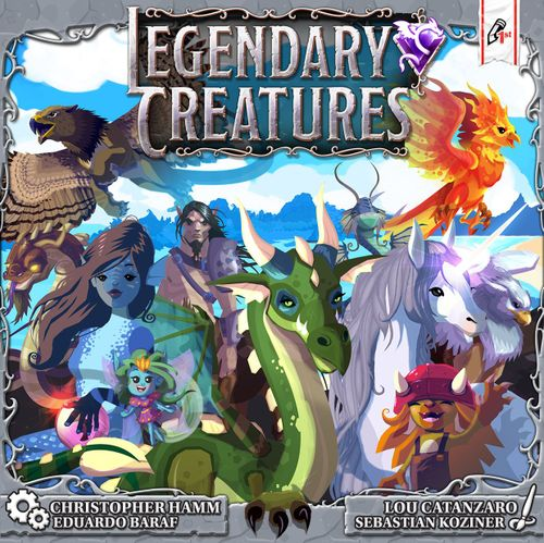 Legendary Creatures -  Pencil First Games