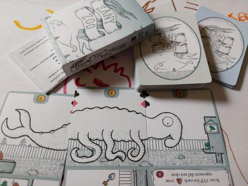 Board Game: Zany Zoo