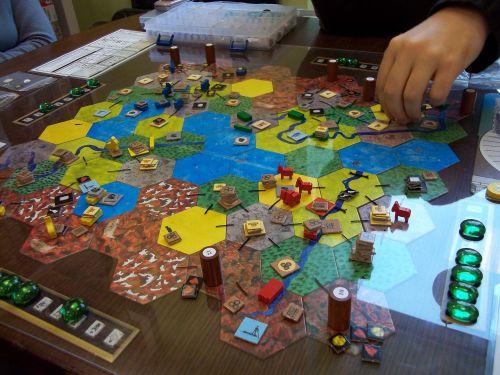 Board Game: Roads & Boats