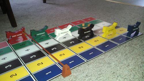 Board Game: Derby Day