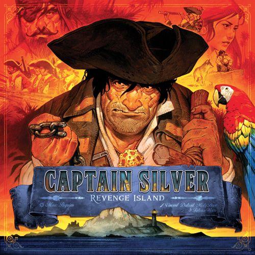 Board Game: Treasure Island: Captain Silver – Revenge Island