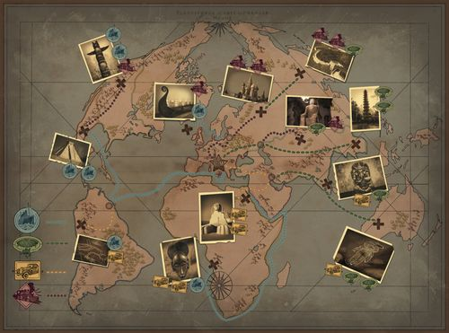 Board Game: Lost Explorers