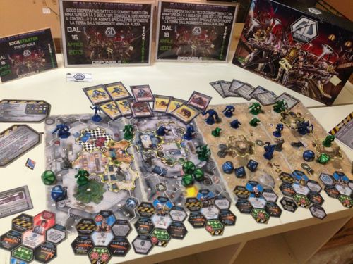 Board Game: Galaxy Defenders