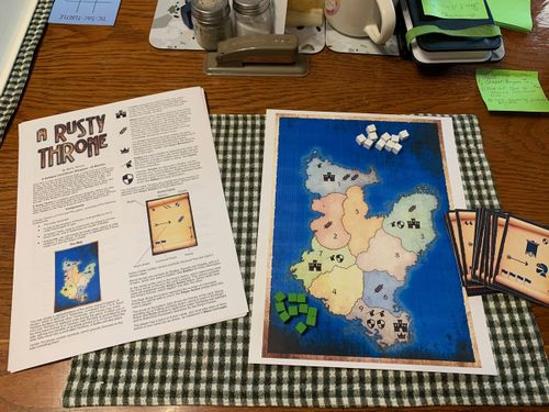 Board Game: A Rusty Throne