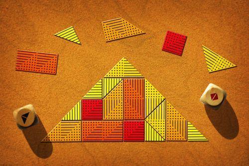 Board Game: The Pyramid's Deadline