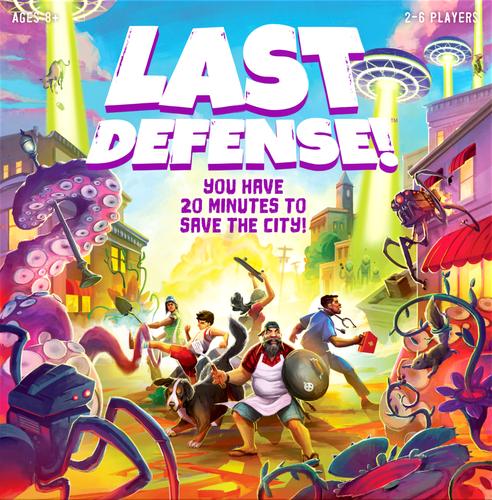 Board Game: Last Defense!