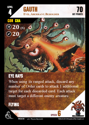 Variant] Custom Cards for D&D Adventure game miniatures | Dungeon