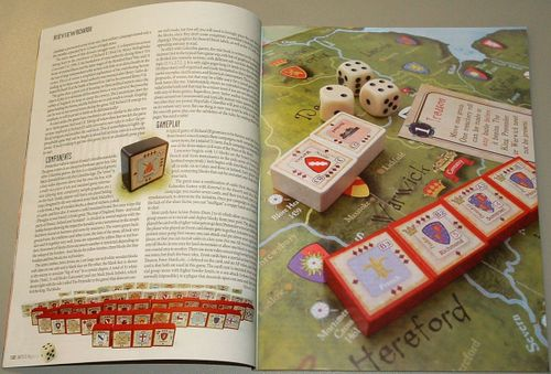 Board Game: Richard III: The Wars of the Roses