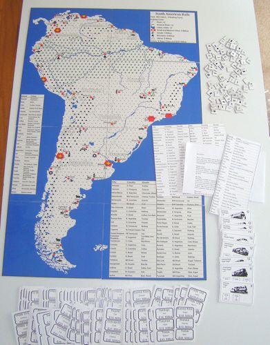 Board Game: South American Rails