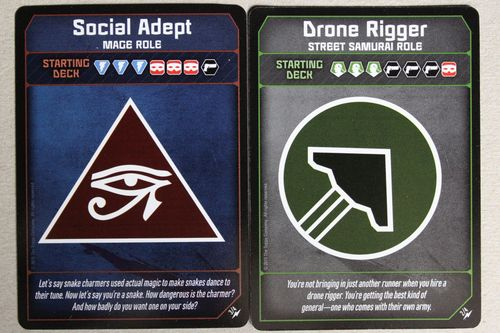 Social Adept role in Two Player Prime Runner | Shadowrun