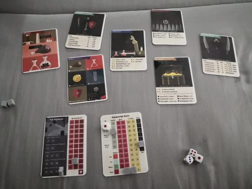Board Game: Mini Rogue: A 9-Card Print-and-Play Game
