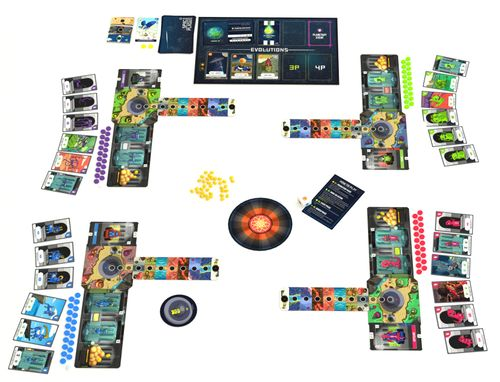 Board Game: Space Plague