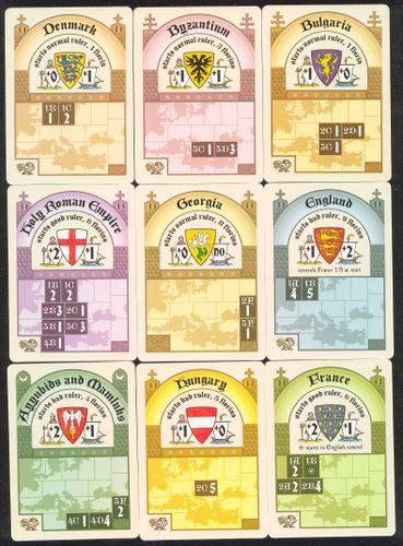 Board Game: Medieval