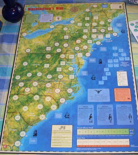 Roger\'s Reviews] Washington\'s War: Fast furious fun ...