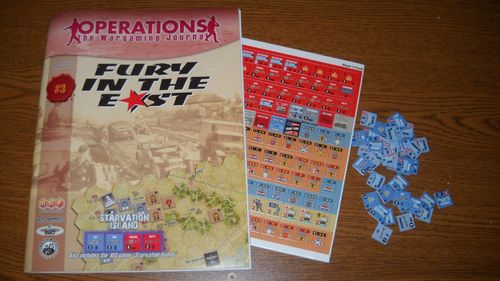 Board Game: Fury in the East