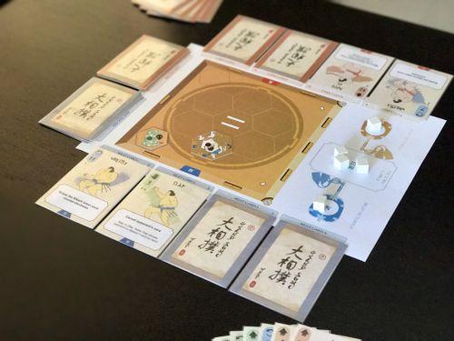 Board Game: Grand Sumo