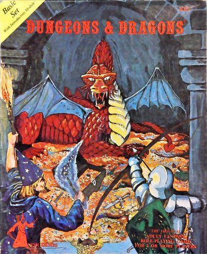 RPG Item: Dungeons & Dragons Basic Set (First Edition)