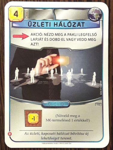 Az angol nyelvű kiadásban az alábbi szöveg szerepel a kártyán
