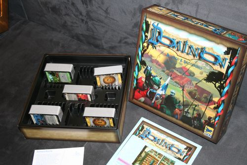 How to store the cards in the insert | Dominion | BoardGameGeek