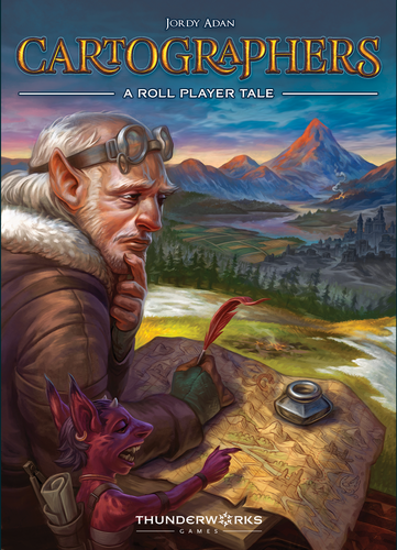 Board Game: Cartographers: A Roll Player Tale