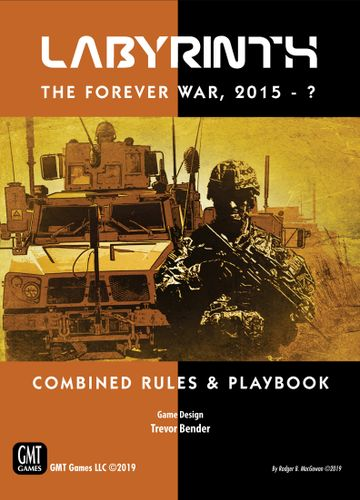 Board Game: Labyrinth: The Forever War, 2015-?