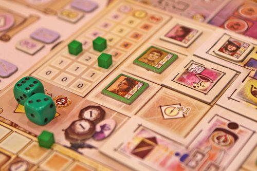 Board Game: Dragonsgate College