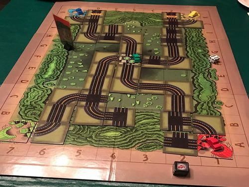 Game Board w/ Pieces