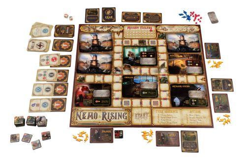 Board Game: Nemo Rising: Robur the Conqueror