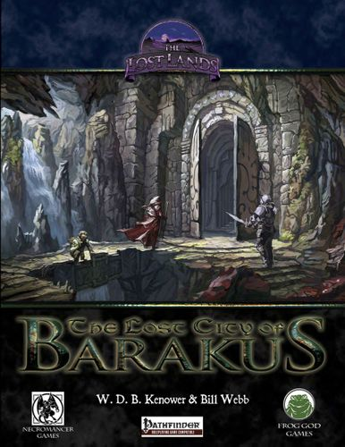 Frog God's Lost City | The Lost City of Barakus (Pathfinder
