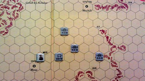 Board Game: Afrika Korps