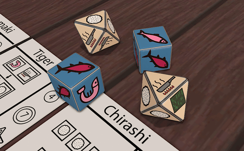 Board Game: RYCE: Roll You Can Eat