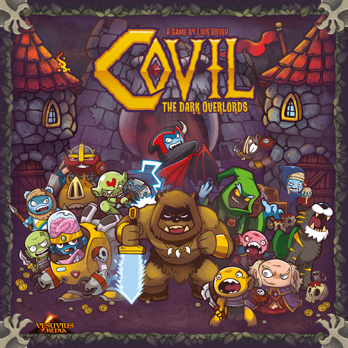 Board Game: Covil: The Dark Overlords
