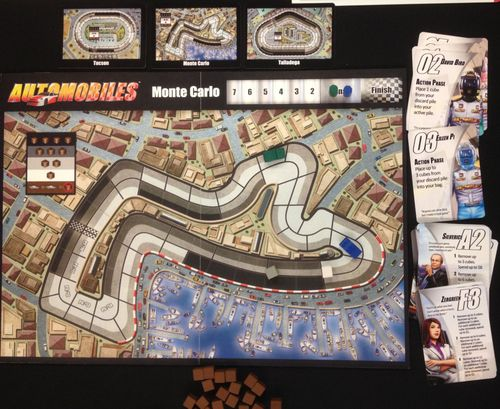 Board Game: Automobiles: Racing Season