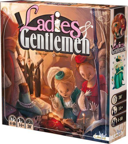 LADIES /& GENTLEMEN Board Game Asmodee #NEW