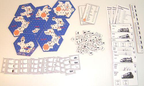 Board Game: Fantasy Island Rails