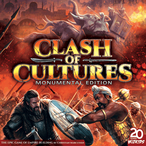 Board Game: Clash of Cultures: Monumental Edition